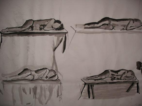 """Woman laying down"""